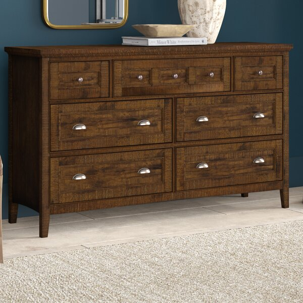 Firth 7 Drawer Dresser by Greyleigh