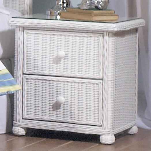 Watkins 2 Drawer Nightstand by Bay Isle Home