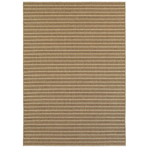 Hofer Golden Wheat Indoor/Outdoor Area Rug by Highland Dunes