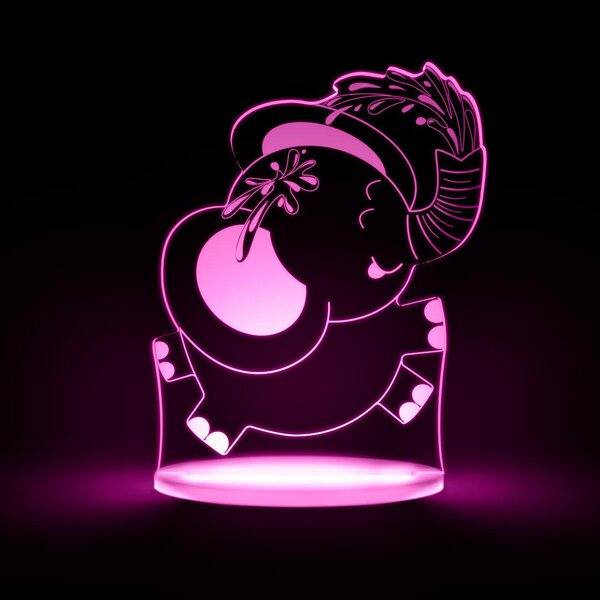 Elephant LED Night Light by Total Dreamz
