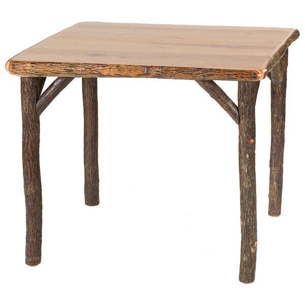 Hickory Cards Table by Fireside Lodge