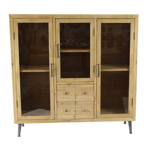 Prudence Rustic Multipurpose 4 Drawer Accent Cabinet by 17 Stories