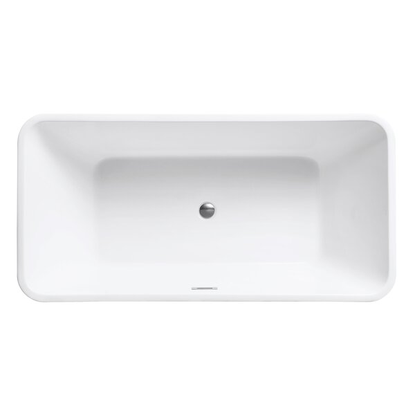 VersaStone 68 H x 33 W Soaking Bathtub by Avanity