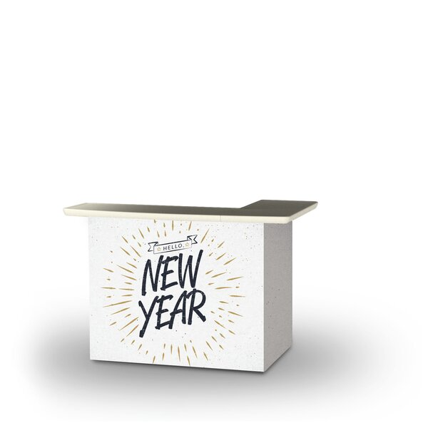 Yayla Hello New Year Home Bar by East Urban Home