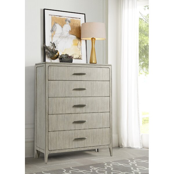 Javion 5 Drawer Chest by One Allium Way