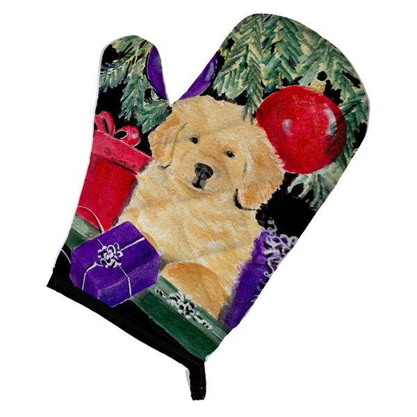 Golden Retriever Oven Mitt by Caroline's Treasures