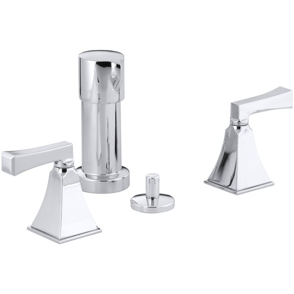 Memoirs Stately Vertical Spray Bidet Faucet with Deco Lever Handles by Kohler