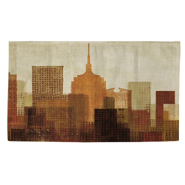 Summer in the City II Area Rug by Manual Woodworkers & Weavers