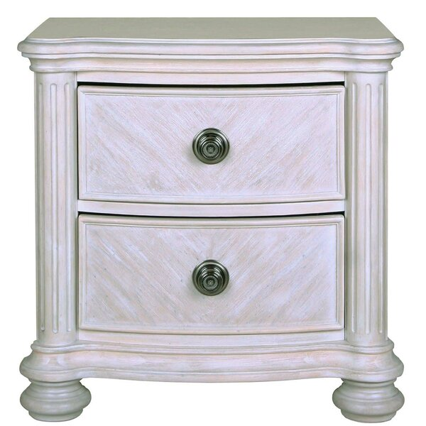 Deas 2 Drawer Nightstand by Darby Home Co