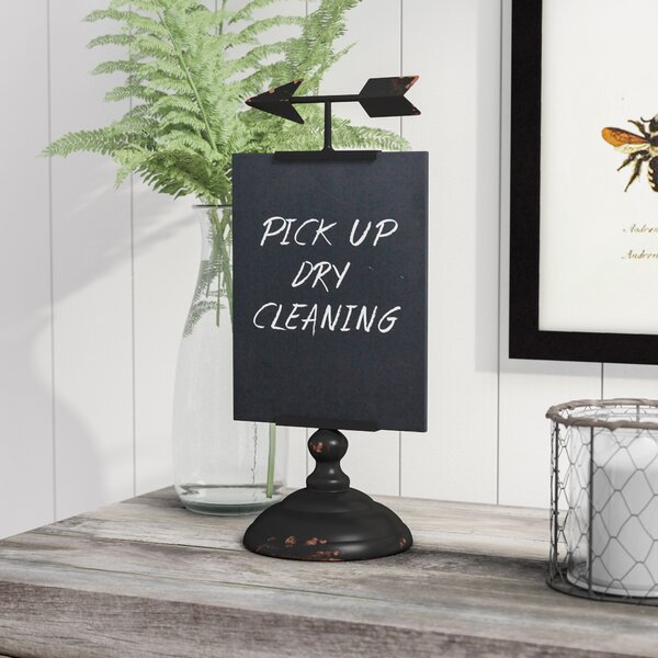 Tabletop Chalkboard by Laurel Foundry Modern Farmhouse