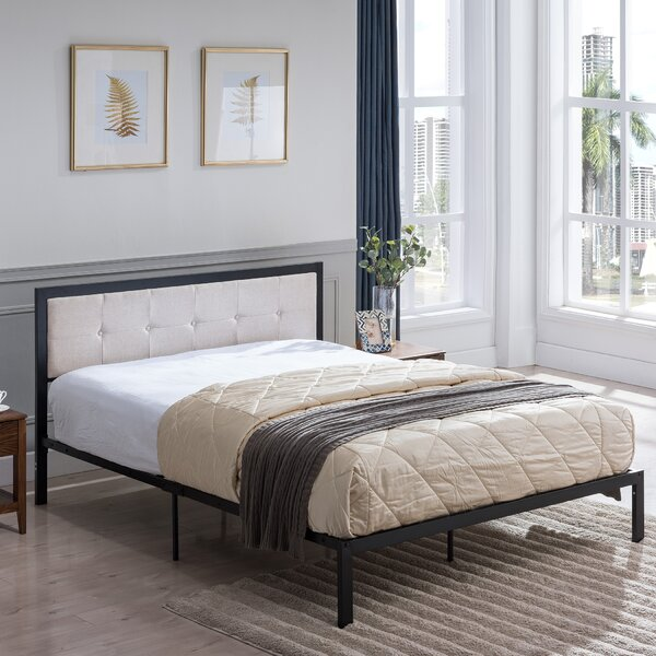 Dede Queen Upholstered Standard Bed by Gracie Oaks