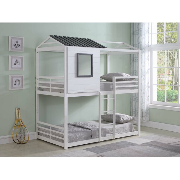 Kingsbridge Twin over Twin Standard Bed by Harriet Bee