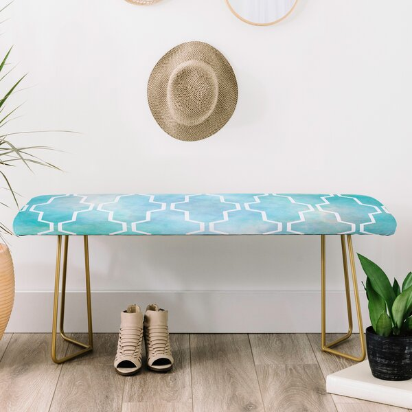 Gabi Faux Leather Bench by East Urban Home