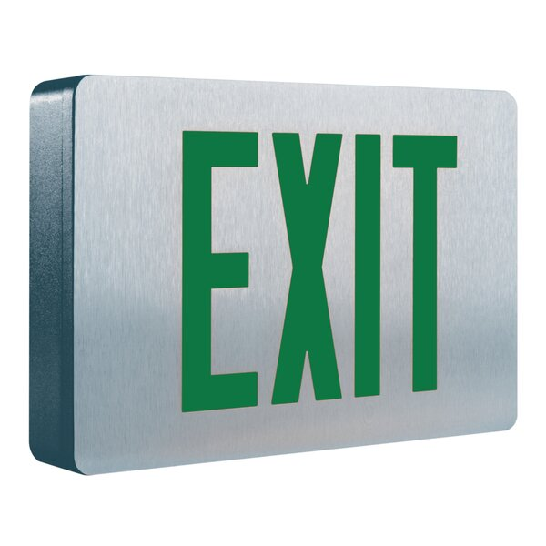 Led Exit Sign By Cooper Lighting.