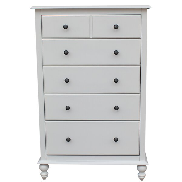 Dania 5 Drawer Dresser by Rosecliff Heights