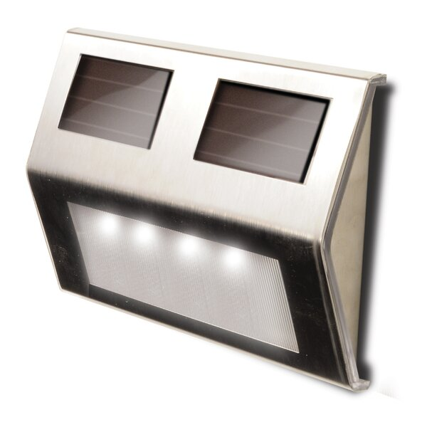 Decorative Solar 4-Light Deck Light (Set of 4) by Maxsa Innovations
