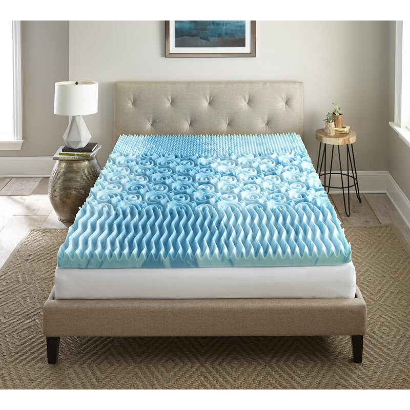 Alwyn Home Rachel Sleep Cool Gellux 3 Gel Memory Foam Mattress
