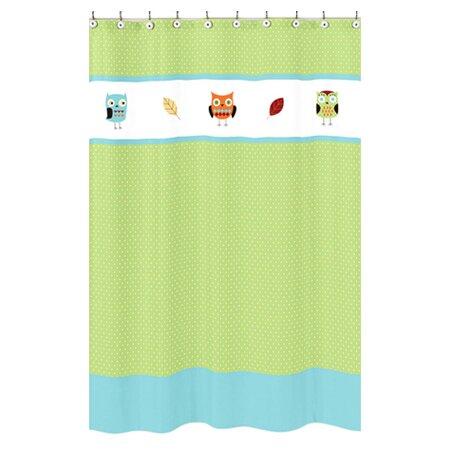Hooty Shower Curtain by Sweet Jojo Designs