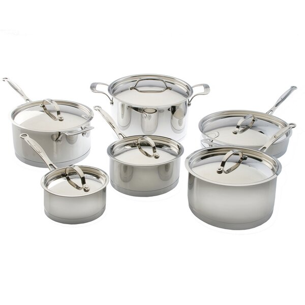 EarthChef Acadian 12-Piece Cookware Set by BergHOFF International