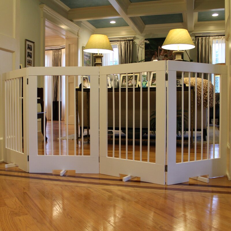 Cardinal Gates 4 Panel Tall Pet Gate & Reviews | Wayfair