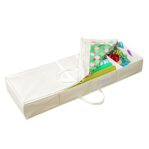 Delsur Underbed Gift Wrap Storage by The Holiday Aisle