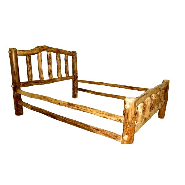 Rustic Arts® Platform Bed by Mountain Woods Furniture