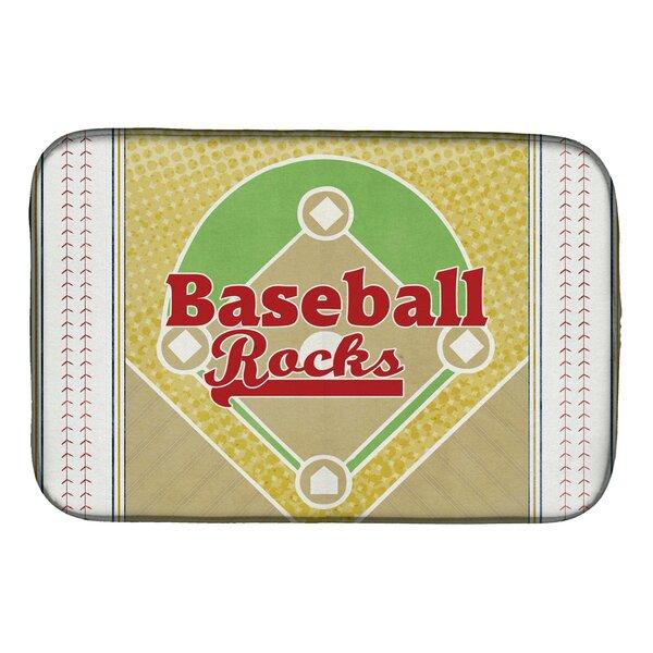 Baseball Rules Dish Drying Mat by Caroline's Treasures