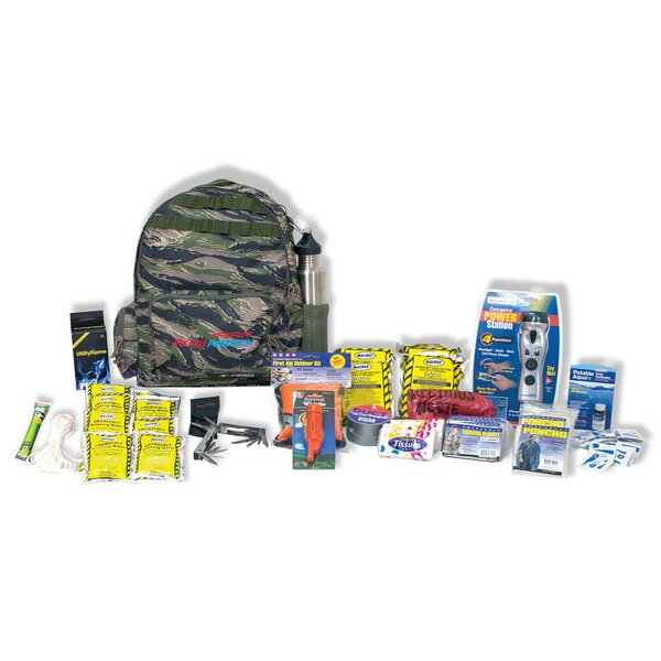Emergency 4 Person Outdoor Survival Kit by Ready America