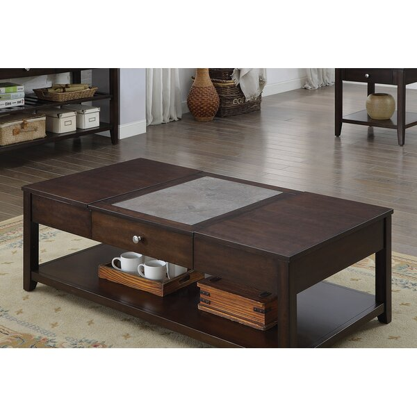 Adria Wooden Lift Top Coffee Table by Wrought Studio