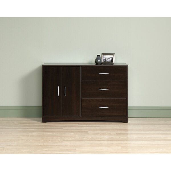 Downs 3 Drawer Combo Dresser by Ebern Designs