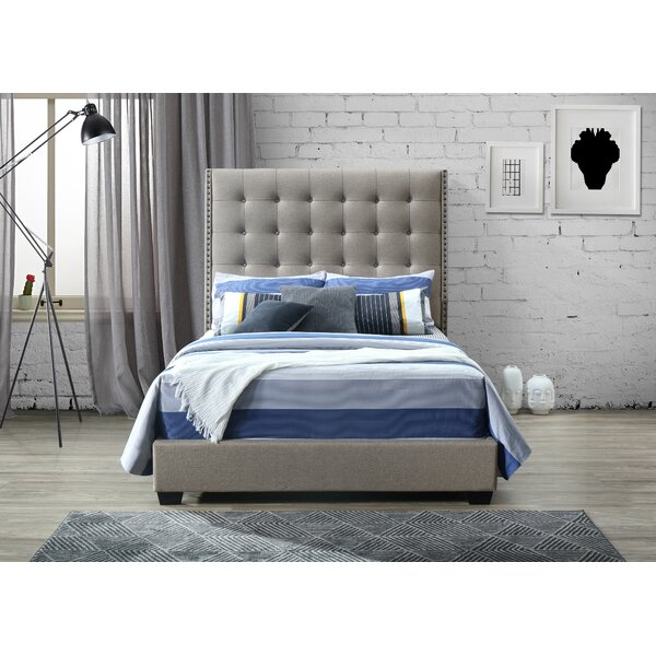 Sonnenberg Queen Upholstered Standard Bed by Canora Grey