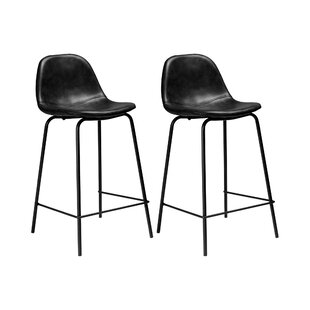 Tremendous Connor Faux Leather Bar Counter Stool Set Of 2 Forskolin Free Trial Chair Design Images Forskolin Free Trialorg