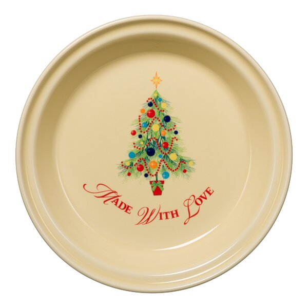 Christmas Tree Pie Pan by Fiesta