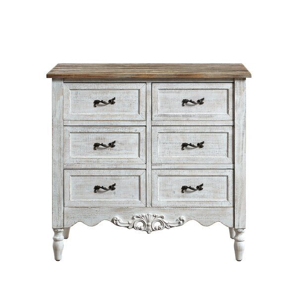 Angustain 6 Drawer Accent Chest by Ophelia & Co.