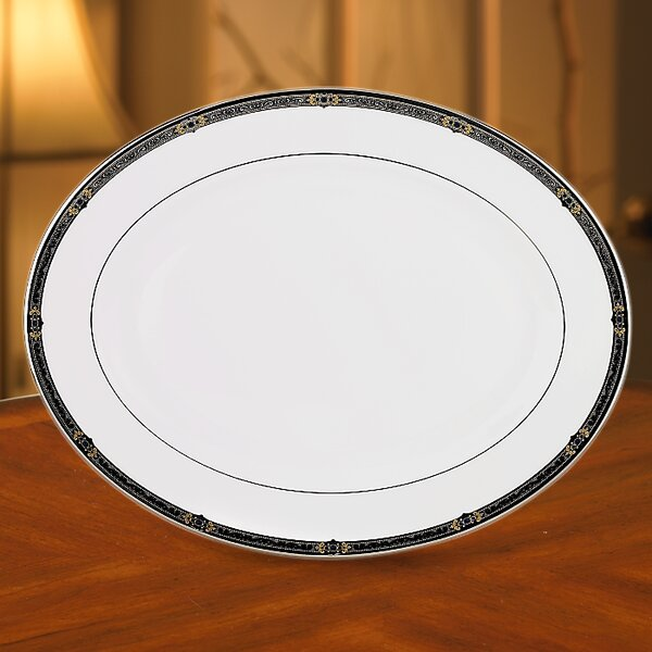 Vintage Jewel Oval Platter by Lenox
