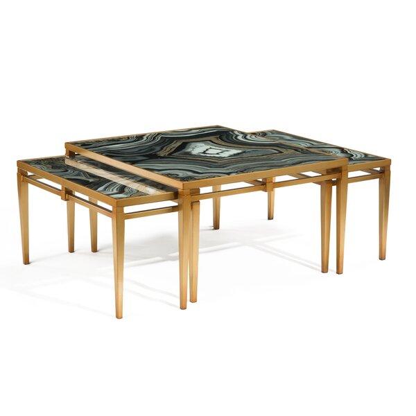 Agate 3 Piece Coffee Table Set by John-Richard