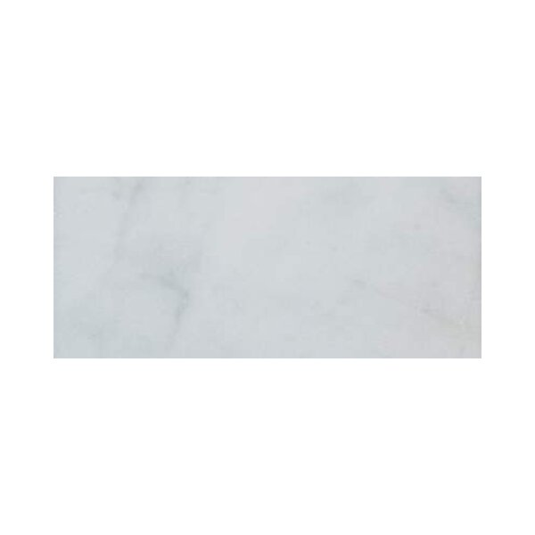 3 x 12 Marble Subway Tile in Bianco Venantino by Ephesus Stones