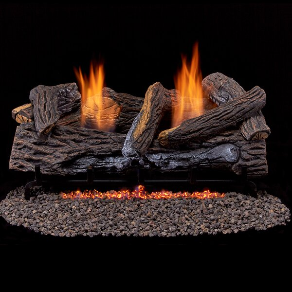 Vent Free Propane/Natural Gas Log By Duluth Forge