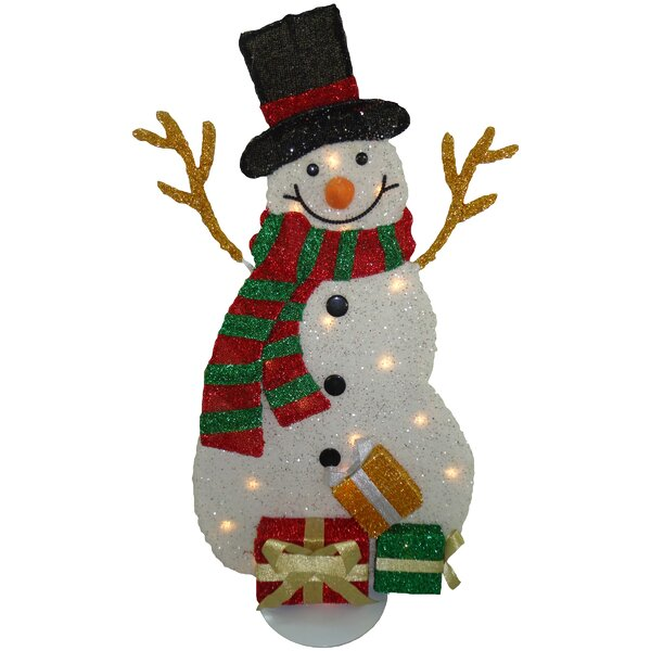 Decorative Décor Snowman Christmas Decoration by The Holiday Aisle
