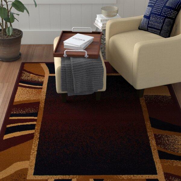Bear Brown/Black Area Rug by Ebern Designs