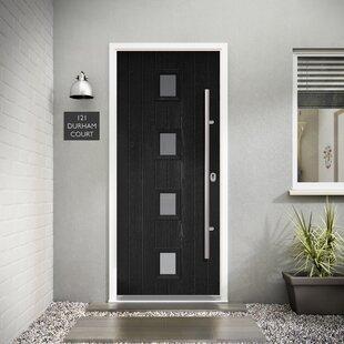 Milton 4 Panel Glazed Front Entry Door