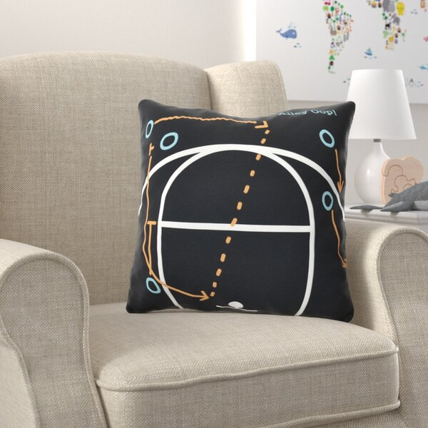 Bauer Alley Oop! Outdoor Throw Pillow by Zoomie Kids