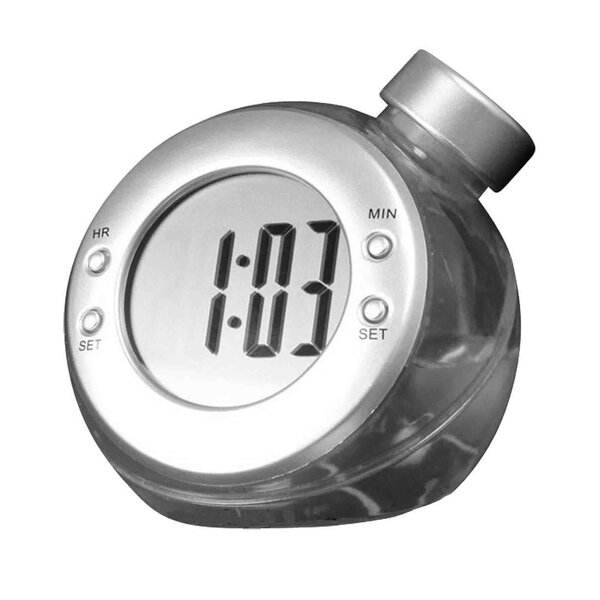 Liquid Table Clock by Creative Motion