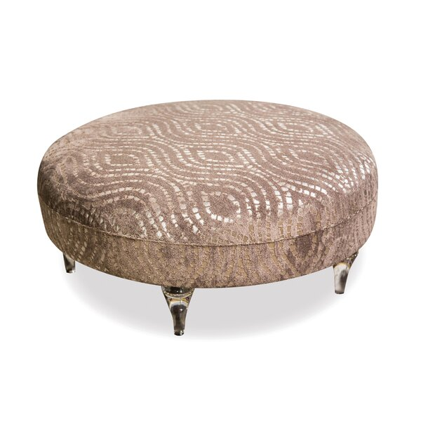 Harlow Cocktail Ottoman by Michael Amini
