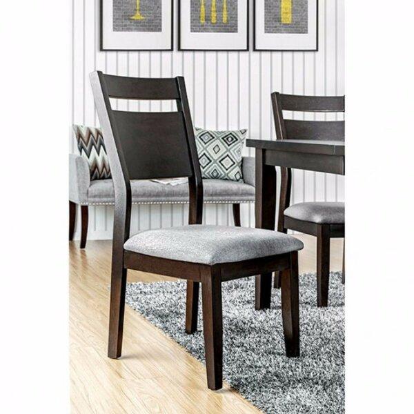 Leonetti Wooden Upholstered Dining Chair (Set Of 2) By Brayden Studio Brayden Studio