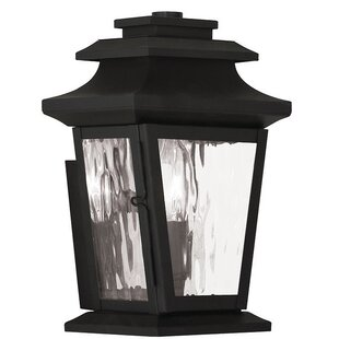 Read Reviews Campfield 1-Light Outdoor Wall Lantern By Darby Home Co