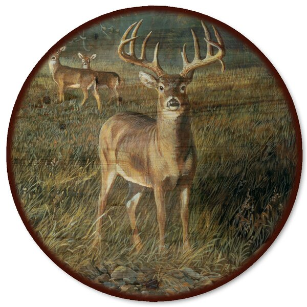 First Light Buck Lazy Susan by WGI-GALLERY