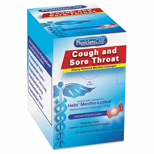 Cough and Sore Throat Lozenges by PhysiciansCare®