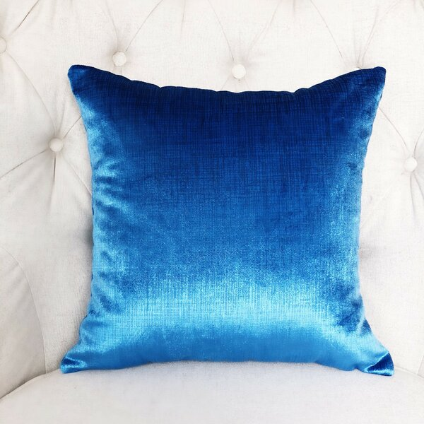Lumiere Azure Throw Pillow by Plutus Brands
