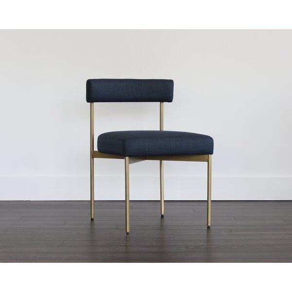 Ahleena Upholstered Dining Chair (Set of 2) by Latitude Run Latitude Run